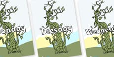 Days of the Week on Beanstalk