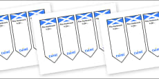Scottish Bookmarks