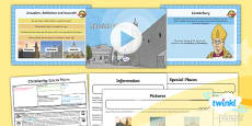 PlanIt - RE Year 4 - Christianity - Lesson 3: Special Places Lesson Pack