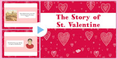 EYFS The Story of Saint Valentine PowerPoint
