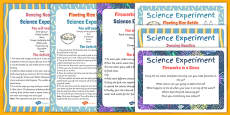 EYFS Chinese New Year Themed Science Experiments Resource Pack