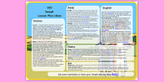 Joseph Lesson Plan Ideas KS1