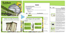 Sukkot Assembly PowerPoint and Script Pack