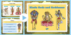 Hindu Gods and Goddesses PowerPoint