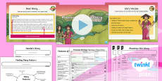 PlanIt Y3 Explorers: The Firework Maker's Daughter Lesson Pack to Support Teaching on The Firework-Maker's Daughter