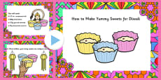 Easy Diwali Sweet Recipe PowerPoint