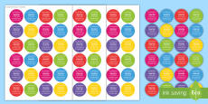 Smartie Label Gift Card Template