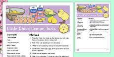 Little Chick Lemon Tarts Recipe