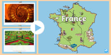 * NEW * France Themed I See, I Think, I Wonder PowerPoint