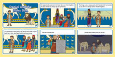 Daniel And The Lions Den Story Sequencing