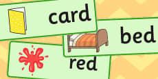 Final D Sound Word Cards