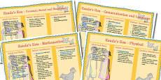 Handa's Hen Lesson Plan and Enhancement Ideas EYFS
