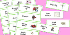 Three Syllable DR Word Cards