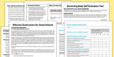 Governing Body Evaluation Pack