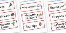 Koala Themed Editable Writing Area Resource Labels