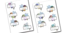 Editable Self Registration Labels (Fairies)