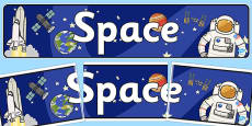 Space Display Banner