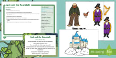 * NEW * Jack and the Beanstalk Small World Play Idea and Printable Resource Pack