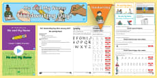 KS1 Me and My Name Handwriting Day Lesson Teaching Pack