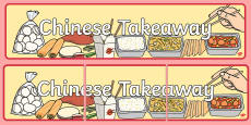 Chinese Takeaway Role Play Banner