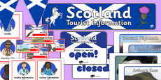 Scotland Tourist Information Role Play Pack