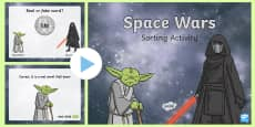 * NEW * Phase 4 Real or Nonsense Words Space Wars Powerpoint Game