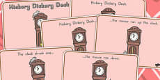Hickory Dickory Dock Story Sequencing Colour (Australia)