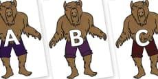 A-Z Alphabet on Beast