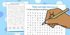 Prefix And Suffix Word Search