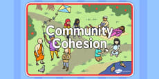 Community Cohesion Display Sign