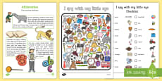 Phase 1 Aspect 5: Alliteration Home Learning Challenges FS1