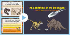 Dinosaur Extinction Presentation