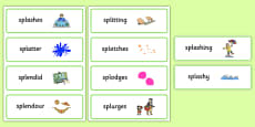 Two Syllable SPL Word Cards
