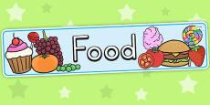Australia - Food Display Banner
