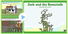 Jack and the Beanstalk Story PowerPoint Arabic Translation