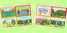 Percy The Park Keeper Role Play Challenge Cards Arabic Translation