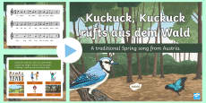 Spring Song PowerPoint