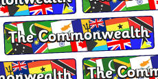 The Commonwealth Display Banner