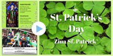 St Patrick's Day PowerPoint Romanian Translation