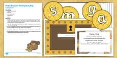 Pirates Treasure Posting Busy Bag Resource Pack for Parents