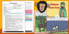 Chinese New Year Role Play Story EYFS Adult Input Plan and Resource Pack