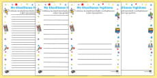 Teacher Learning Promise Activity Sheet Welsh