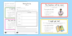 Transition Scenario Cards and Action Plan Activity Pack