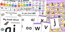 Teaching Assistant Phase 3 Phonics Resource Pack