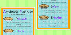 Authors Purpose PIE Poster