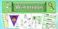 Wimbledon Role Play Pack