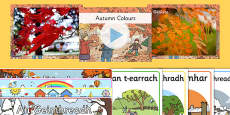 Irish Autumn An Fómhar Resource Pack Gaeilge