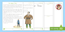 * NEW * Miss Trunchbull and the Hammer Throw Fact File Activity Sheets to Support Teaching on Matilda