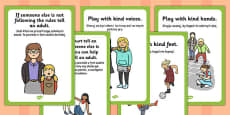 Playground Rules Posters Polish Translation
