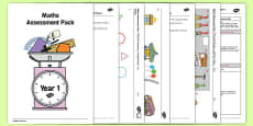 Year 1 Maths Assessment Pack Term 2